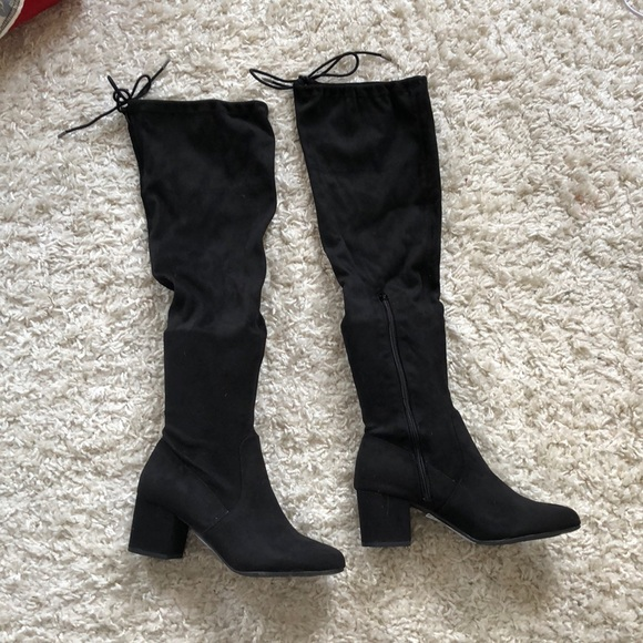 Shoes - Brand new never worn over the knee boots